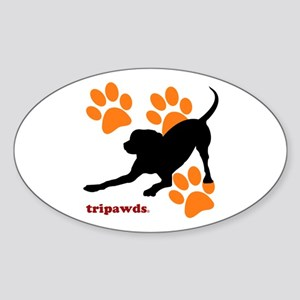 Tripawds Hound Dog Sticker