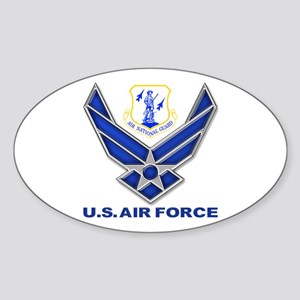Air National Guard Sticker (Oval)