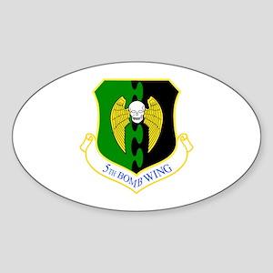 5th Oval Sticker