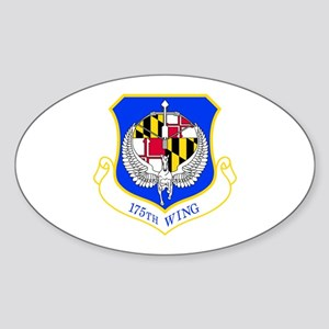 175th Oval Sticker
