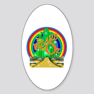 The Wizard of Oz Sticker (Oval)