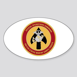 Marine Special Ops Cmd Sticker (Oval)