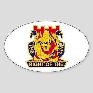 2nd Battalion - 14th Infantry Regiment Sticker (Ov