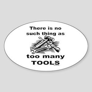HANDY MAN/MR. FIX IT Oval Sticker