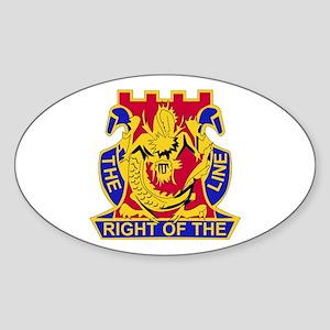 DUI - 2nd Bn - 14th Infantry Regt Sticker (Oval)