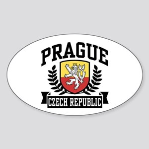 Prague Czech Republic Sticker (Oval)