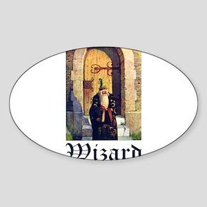 WIZARDS Sticker (Oval)
