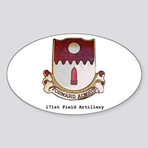 Oval Sticker/w 171st Crest