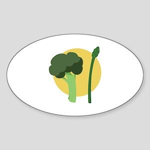 Broccoli Asparagus Sticker