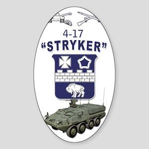 4-17SBCT_SIGG_003 Sticker (Oval)
