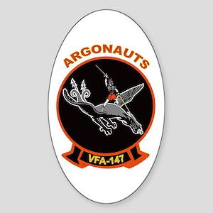 VFA 147 Argonauts Oval Sticker