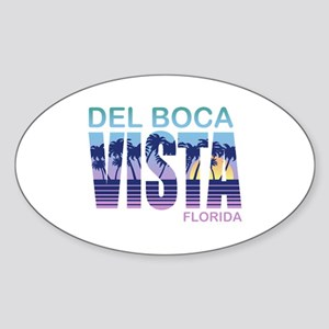 Del Boca Vista Sticker (Oval)