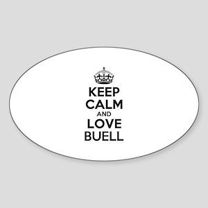 Keep Calm and Love BUELL Sticker