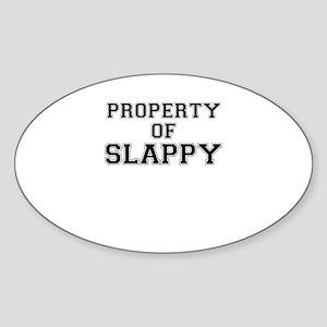 Property of SLAPPY Sticker