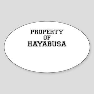 Property of HAYABUSA Sticker