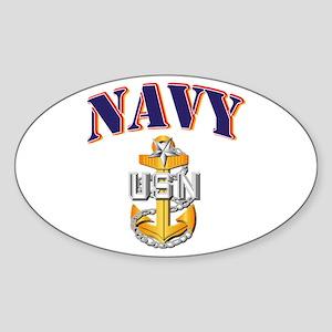 Navy - NAVY - SCPO Sticker (Oval)