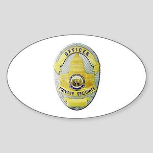 Private Security Sticker