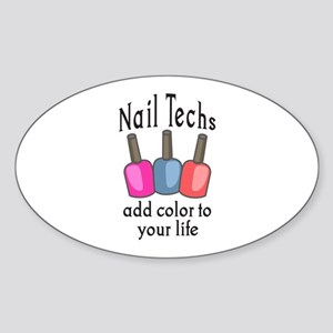 NAIL TECHS ADD COLOR Sticker