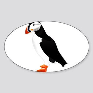 Pretty Puffin Sticker