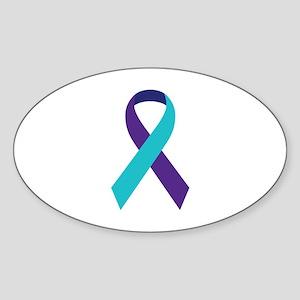 Suicide Awareness Ribbon Sticker
