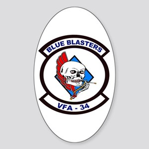 VFA 34 Blue Blasters Oval Sticker