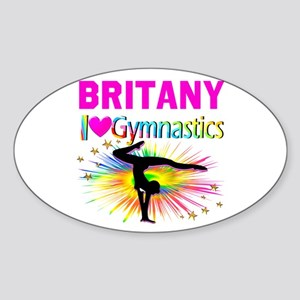 GYMNAST DREAMS Sticker (Oval)