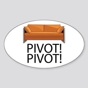 Friends Pivot Sticker (Oval)