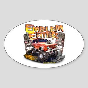 Emblem Eater Oval Sticker