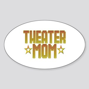 Theater Mom Oval Sticker