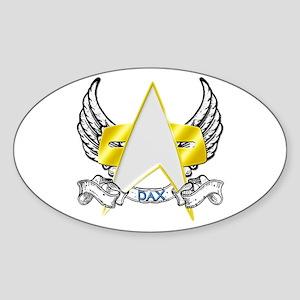 Star Trek Dax Tattoo Sticker (Oval)