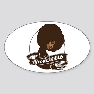 Afrolicious Sticker (Oval)