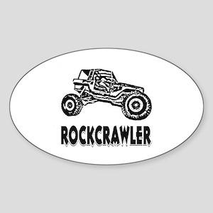 Rock Crawler Sticker (Oval)