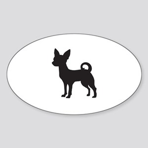 Chihuahua Sticker (Oval)