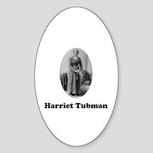 Harriet Tubman Oval Sticker