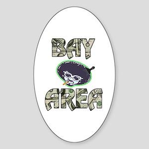 BAY AREA BIZZNESS Oval Sticker