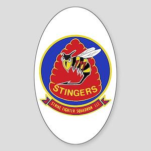 VFA 113 Stingers Oval Sticker