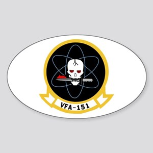VFA 151 Vigilantes Oval Sticker