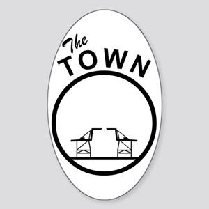 The Town Oval Sticker