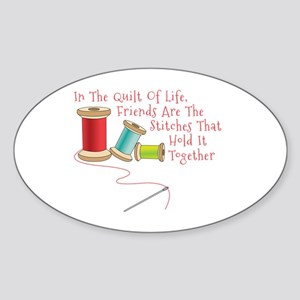 Quilt of Life Sticker