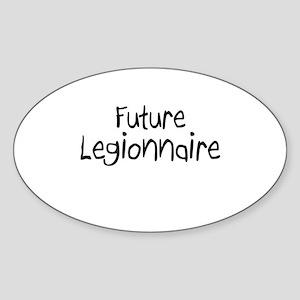 Future Legionnaire Oval Sticker