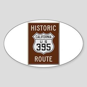 Historic Route 395 Sticker