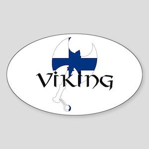 Finland Viking Sticker
