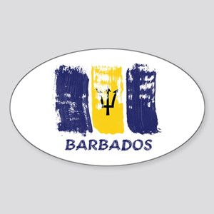 Barbados Sticker (Oval)