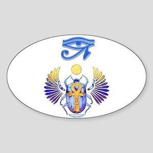 Scarab Egyptian Art Sticker