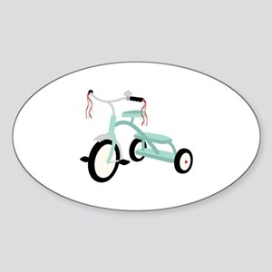 Light Blue Tricycle Sticker