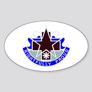 DUI - 31st Combat Support Hospital Sticker (Oval)