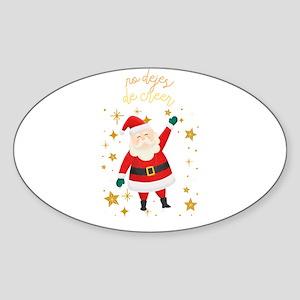 No Dejes de Creer Regalo de Navidad Sticker