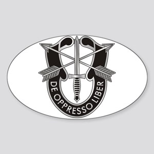 Special Forces Crest Sticker (Oval)