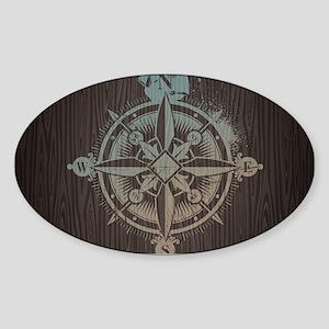 Nautical Compass Sticker