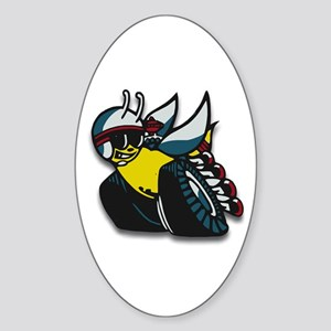 SUPER BEE Oval Sticker